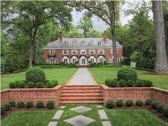 Aspirational backyard via The Garden Club of Virginia