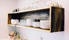 kitchen shelf - PROJECT SUNDAY // HAND MADE IN THE USA