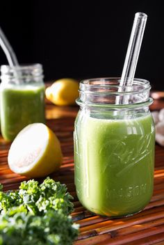 Guzzle this green monster and feel amazing! #greendrinks