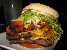 Una gran hamburguesa
