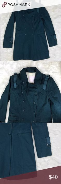 """Rebecca Taylor double breasted coat size 4 Rebecca Taylor double breasted coat size 4  armpit to armpit 17"""" length 34"""" Rebecca Taylor Jackets & Coats"""