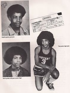 "vintageeveryday: ""Prince Rogers Nelson freshman yearbook photo at Central High School in Minneapolis.P Prince! Rock N Roll, Young Prince, My Prince, Minnesota, Retro Vintage, Vintage Black, Vintage Soul, Jazz, Hip Hop"