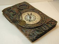An inspiring handmade sketchbook. #sketchbook #journal #book