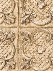 Faux  Metal Tile Wallpaper Tile Wallpaper, Tiles, Arts And Crafts, Interior Design, Rugs, Metal, Gallery, Image, Bathroom