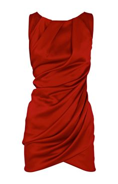 * Draped dress with gathered neckline and folded back detail   * 100% Polyester   * Dry clean only  This Fashion Clothes Design Karen Millen Solid Color By.Karen Millen    All Order more than £99-Free Shipping and Easy To Return