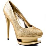 Just Fabulous's Gold Nikki - Gold for 59.99 direct from heels.com
