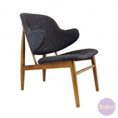 Replica Ib Kofod-Larsen Lounge Chair - Walnut
