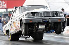 Ford Thunderbolt Wheelie