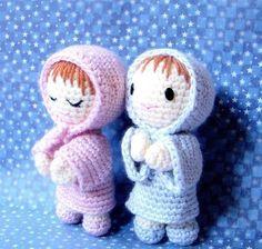 Amigurumi pattern -Say Prayers - Crochet Amigurumi  doll pattern / PDF