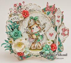 Handmade by Tamara: April challenge ❀ I am roses