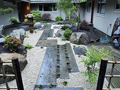 Japanese Garden courtyard