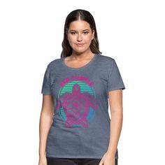 Geschenke Shop   Sea Turtle - Frauen Premium T-Shirt T Shirt Designs, Trends, Bunt, Sea, Shopping, Fashion, Turtle, Fashion Styles, Cotton