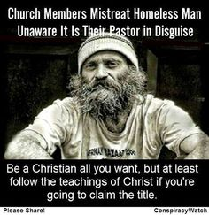 What Is a Religious Hypocrite | Christian Hypocrisy: Pastor Pretends To Be Homeless, Church Members ...