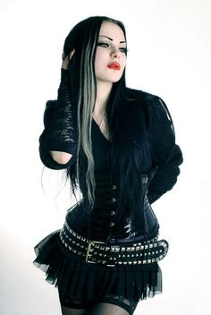 #Goth girl fashion