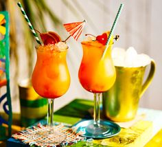 Shivi Ramoutar's recipe for this classic Caribbean cocktail combines sweet and sour flavours for a fruity weekend tipple