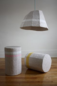 dear human explores different uses for recycled paper-made objects