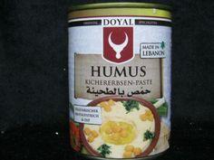 Hummus, Kichererbsenpaste, Doyal, 400g Dose