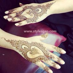 Latest Fancy & Stylish Mehndi Trends & Designs Collection 2016-2017 (15)