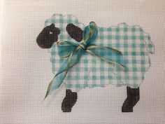 This sheep is the cuties would love to stitch this one