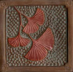 Fay Jones Day Tiles - Ginkgos