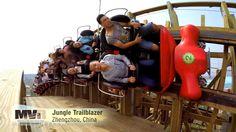 Roller Coasters of Martin & Vleminckx! IAAPA 2015 - Lots of Coaster Foot...