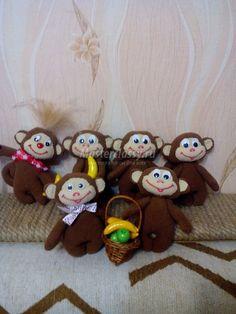 сшить обезьянку к новому году