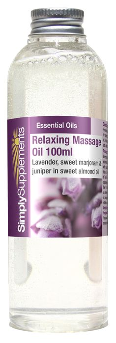 A stimulating blend of lavender, sweet marjoram and juniper in sweet almond oil, to help relax tired and stressed muscles. This massage oil is one of our customer favourites. After a strenuous day this oil can help you to unwind & rejuvenate the body. The sweet marjoram and lavender has been known to relieve stressed muscles whilst the juniper and almond may help to calm your emotions and keep your skin smooth. Click on the image for more information.
