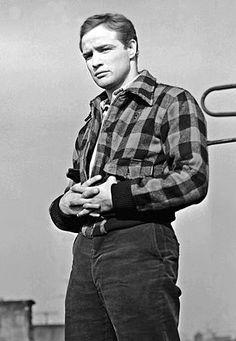 "Marlon Brando in ""On The Waterfront"""