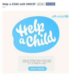 Unicef Help a Child