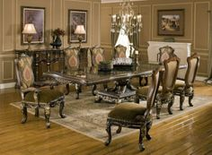 Sicily Dining Room Set | Benetti's Italia Furniture | Home Gallery Stores