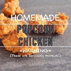 Kfc Chicken Recipe, Fried Chicken Recipes, Fun Baking Recipes, Snack Recipes, Cooking Recipes, Chicken Snacks, Pop Corn Chicken, Crispy Chicken, Snacks