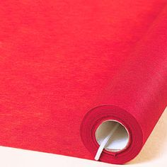 100 feet vinyl Red Aisle Runner is 36 inches wide and can be used down the aisle for your wedding ceremony, at your reception, and or as part of your table decor. This is also a great item to add to your red carpet or movie themed event!