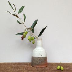 lene kuhl jakobsen handmade ceramic reduction vase
