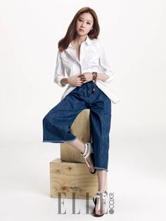 2econd Floor S/S 2015 Ad Campaign Feat. Gong Hyo Jin | Couch Kimchi