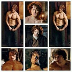 Sam Heughan, Scottish actor, currently playing Jamie Fraser in Starz' Outlander series. Sam Heughan Outlander, Outlander Serie, James Fraser Outlander, Watch Outlander, Outlander Casting, Jamie Fraser, Claire Fraser, Scottish Actors, Samheughan