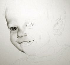 tutorial drawing young children