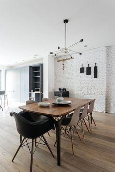 Dining Rooms · Modern Rustic Interiors · Bare Bone · INSPIRACIÓN DECO: LA  REFORMA DE UN LOFT EN NUEVA YORK