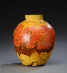Vare: 4328275 Kähler. Stor vase af lertøj