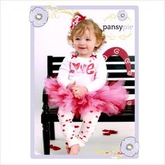 Luv this LOVE #ValentineTutu Outfit!