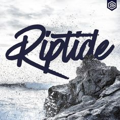 "From skett_ on Instagram. ""Riptide"" sometimes you just have to ride the wave of life no matter how hard it is #skett #customtype #customlettering #customtypography #goodtype #thedailytype #type #typism #typeverything #typegang #typespot #typography #typematters #typeface #brushtype #handtype #handdrawn #handmadefont #letters #lettering #letteringdesign #illustration #illustrated #font #design #drawing #thefinelab #todaystype #strengthinletters #design #graphicdesign #lettering"