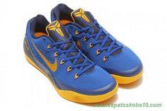 """venda de tenis online 653593-401 Gym Azul/Universidade de Ouro-Obsidian """"Gym Azul"""" Nike Kobe 9 EM"""