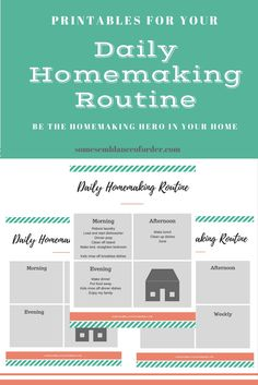 house cleaning routine, sahm, homemaking routine