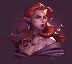 ArtStation - Commissions - Elves, BoissB - B. Jiménez You are in the right place about Racing Girl H Fantasy Character Design, Character Creation, Character Design Inspiration, Character Art, Character Ideas, Elf Characters, Fantasy Characters, Fantasy Figures, Fantasy Races