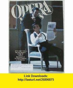 Opera News Magazine. January 17, 1998 Single Issue Magazine. Volume 62, No. 9 Patrick Smith ,   ,  , ASIN: B003VFMWI4 , tutorials , pdf , ebook , torrent , downloads , rapidshare , filesonic , hotfile , megaupload , fileserve
