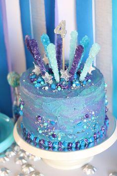 Charlotte's intergalactic space birthday cake! Galaxy cake. Space party. Space cake. Planet cake. Asteroids, galaxy, meteor, meteorite, moon rocks, stars, solar system... ⭐️✨