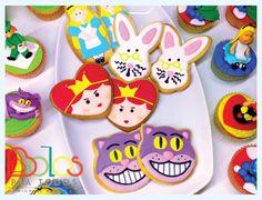 Bolachas e Cupcakes Alice no País mais Doce - Bolos Pra Todos bolospratodos@gmail.com