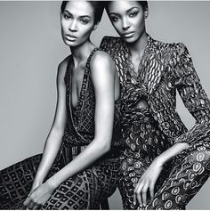 Jourdan and Joan! Supermodels