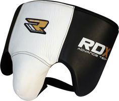 RDX Cow Hide Leather Gel Groin Guard