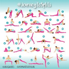 30 Days & 30 Stretches to Splits! #JourneytoSplits – Blogilates