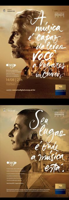 Personnalite Osesp on - Image added in Posters Collection in Graphic Design Category Poster Design, Graphic Design Posters, Graphic Design Inspiration, Typography Design, Creative Inspiration, Lettering, Graphisches Design, Flyer Design, Layout Design
